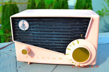 Load image into Gallery viewer, SOLD! - July 19, 2016 - BLUETOOTH MP3 READY - AWESOME Pink And Black Retro Vintage 1957 Emerson 851 AM Tube Radio Totally Restored! - [product_type} - Emerson - Retro Radio Farm