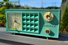 Load image into Gallery viewer, SOLD! - May 2, 2015 - PISTACHIO GREEN Retro Jetsons Mid Century Vintage 1955 Admiral Model 251 AM Tube Radio Totally Restored! , Vintage Radio - Admiral, Retro Radio Farm  - 2
