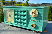 Load image into Gallery viewer, SOLD! - May 2, 2015 - PISTACHIO GREEN Retro Jetsons Mid Century Vintage 1955 Admiral Model 251 AM Tube Radio Totally Restored! , Vintage Radio - Admiral, Retro Radio Farm  - 9