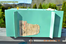 Load image into Gallery viewer, SOLD! - May 2, 2015 - PISTACHIO GREEN Retro Jetsons Mid Century Vintage 1955 Admiral Model 251 AM Tube Radio Totally Restored! , Vintage Radio - Admiral, Retro Radio Farm  - 13