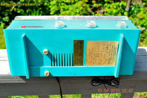 SOLD! - Jan 4, 2016 - GUMBY GREEN AM/FM Retro Vintage Mid Century Olympic Model AFM-16 Tube Radio Totally Restored! - [product_type} - Olympic - Retro Radio Farm
