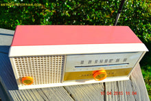 Load image into Gallery viewer, SOLD! - May 15, 2015 - CARNATION PINK Retro Jetsons early 60s Arvin Model 30R12 Tube FM RADIO Works! - [product_type} - Arvin - Retro Radio Farm
