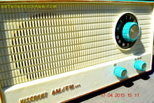 Load image into Gallery viewer, SOLD! - April 20, 2015 - TURQUOISE AM/FM Retro Vintage Mid Century Viscount Solid State Portable Radio Totally Restored! - [product_type} - Viscount - Retro Radio Farm