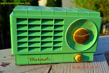 Load image into Gallery viewer, SOLD! - Mar 3, 2016 - LIME GREEN 1948 Retro Vintage Art Deco Motorola Model 58R15 Bakelite AM Tube AM Radio Totally Restored! , Vintage Radio - Motorola, Retro Radio Farm  - 5