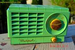 SOLD! - Mar 3, 2016 - LIME GREEN 1948 Retro Vintage Art Deco Motorola Model 58R15 Bakelite AM Tube AM Radio Totally Restored! , Vintage Radio - Motorola, Retro Radio Farm  - 5
