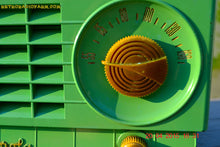 Load image into Gallery viewer, SOLD! - Mar 3, 2016 - LIME GREEN 1948 Retro Vintage Art Deco Motorola Model 58R15 Bakelite AM Tube AM Radio Totally Restored! , Vintage Radio - Motorola, Retro Radio Farm  - 8