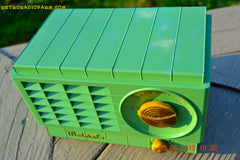 SOLD! - Mar 3, 2016 - LIME GREEN 1948 Retro Vintage Art Deco Motorola Model 58R15 Bakelite AM Tube AM Radio Totally Restored! , Vintage Radio - Motorola, Retro Radio Farm  - 7