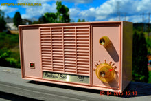 Load image into Gallery viewer, SOLD! - June 21, 2015 - BLUETOOTH MP3 READY - PASTEL PINK Mid Century Vintage 1959 Packard Bell Model 5R9 Tube Radio Totally Restored! , Vintage Radio - Packard-Bell, Retro Radio Farm  - 2
