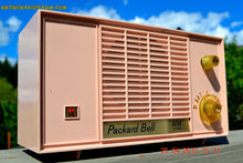 Load image into Gallery viewer, SOLD! - June 21, 2015 - BLUETOOTH MP3 READY - PASTEL PINK Mid Century Vintage 1959 Packard Bell Model 5R9 Tube Radio Totally Restored! , Vintage Radio - Packard-Bell, Retro Radio Farm  - 1