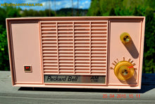 Load image into Gallery viewer, SOLD! - June 21, 2015 - BLUETOOTH MP3 READY - PASTEL PINK Mid Century Vintage 1959 Packard Bell Model 5R9 Tube Radio Totally Restored! , Vintage Radio - Packard-Bell, Retro Radio Farm  - 6