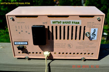Load image into Gallery viewer, SOLD! - June 21, 2015 - BLUETOOTH MP3 READY - PASTEL PINK Mid Century Vintage 1959 Packard Bell Model 5R9 Tube Radio Totally Restored! , Vintage Radio - Packard-Bell, Retro Radio Farm  - 10