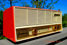 Load image into Gallery viewer, SOLD! - Dec 21, 2015 - SOCKEYE SALMON Pink Retro Jetsons Vintage 1957 Westinghouse H-637T6A AM Tube Radio Works! - [product_type} - Westinghouse - Retro Radio Farm