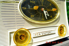 Load image into Gallery viewer, SOLD! - Aug 5, 2015 - Charcoal Grey Retro Jetsons Vintage 1959 RCA Victor Model 1-RD-50 AM Tube Clock Radio Totally Restored! - [product_type} - RCA Victor - Retro Radio Farm