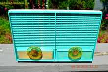 Load image into Gallery viewer, SOLD! - June 8, 2015 - CERULEAN Mid Century Retro Jetsons Vintage 1957 Philco M-872-124 AM Tube Radio Works! - [product_type} - Philco - Retro Radio Farm