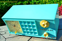 SOLD! - Nov 24, 2015 - PISTACHIO GREEN Retro Jetsons Mid Century Vintage 1955 Admiral Model 251 AM Tube Radio Totally Restored! , Vintage Radio - Admiral, Retro Radio Farm  - 8