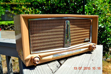 Load image into Gallery viewer, SOLD! - June 16, 2016 - SANDLEWOOD Mid Century Retro Jetsons 1959 Arvin Model 956T Tube AM Radio Works! - [product_type} - Arvin - Retro Radio Farm