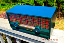 Load image into Gallery viewer, SOLD! - Aug 3, 2015 - SCOTTISH TARTAN Green Retro Vintage 1954 Capehart Model T-54 AM Tube Radio Totally Restored! - [product_type} - Capehart - Retro Radio Farm