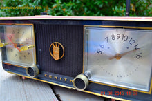 Load image into Gallery viewer, SOLD! - Dec 16, 2015 - BETTY BOOP Pink and Black Mid Century Retro Jetsons Vintage 1954 Zenith C624 AM Tube Radio Works! - [product_type} - Zenith - Retro Radio Farm