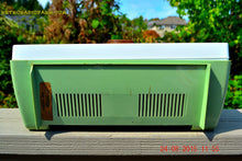 Load image into Gallery viewer, SOLD! - Aug 24, 2015 - COOL MINT Green Retro Vintage Mid Century Jetsons 1950's Truetone Western Auto AM Tube Radio Works! - [product_type} - Truetone - Retro Radio Farm