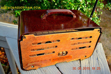Load image into Gallery viewer, SOLD! - Sept 22, 2015 - GOLDEN AGE Art Deco WWII Era Vintage 1942 Zenith 6D612 AM Tube Radio Sounds Great! , Vintage Radio - Zenith, Retro Radio Farm  - 11