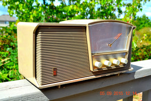 SOLD! - Sept 10, 2015 - LOFT GRAY Mid Century Retro Vintage 1964 Motorola Model B6N AM/FM Tube Radio Works Great! , Vintage Radio - Motorola, Retro Radio Farm  - 2