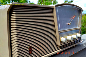 SOLD! - Sept 10, 2015 - LOFT GRAY Mid Century Retro Vintage 1964 Motorola Model B6N AM/FM Tube Radio Works Great! - [product_type} - Motorola - Retro Radio Farm