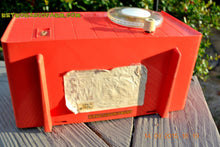 Load image into Gallery viewer, SOLD! - June 4, 2016 - BLUETOOTH MP3 READY - Salmon Pink Retro Mid Century Jetsons Vintage 1958 Philco E-814-124 AM Tube Radio WORKS! , Vintage Radio - Philco, Retro Radio Farm  - 10