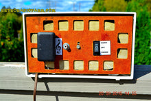 Load image into Gallery viewer, SOLD! - Dec 22, 2015 - BLUETOOTH MP3 READY - SNOW WHITE Retro Jetsons 1954 RCA Victor Model 3-X-536 Tube AM Radio Works! - [product_type} - RCA Victor - Retro Radio Farm