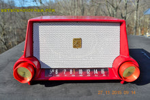 Load image into Gallery viewer, SOLD! - Mar 13, 2016 - CIMARRON RED Dashboard Mid Century Retro Jetsons 1953 Motorola 53H Tube AM Radio Works! , Vintage Radio - Motorola, Retro Radio Farm  - 5