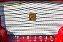 Load image into Gallery viewer, SOLD! - Mar 13, 2016 - CIMARRON RED Dashboard Mid Century Retro Jetsons 1953 Motorola 53H Tube AM Radio Works! , Vintage Radio - Motorola, Retro Radio Farm  - 7