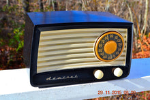 Load image into Gallery viewer, SOLD! - Jan 6, 2016 - BLUETOOTH MP3 READY - Black and Ivory Retro Vintage Black Ivory 1951 Admiral 5X13N Tube AM Radio - [product_type} - Admiral - Retro Radio Farm