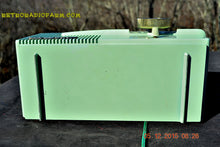 Load image into Gallery viewer, SOLD! - Dec 24, 2015 - CORONADO Moderne 1950 Model 43-8225 AM Tube Radio Pistachio Mid Century Retro Near Mint Works Great! - [product_type} - Coronado - Retro Radio Farm