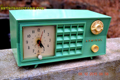 SOLD! - Dec 13, 2015 - BLUETOOTH MP3 Ready - Admiral Model 251 955 AM Tube Radio Pistachio Green Retro Jetsons Mid Century Vintage Totally Restored! , Vintage Radio - Admiral, Retro Radio Farm  - 5