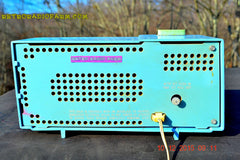 SOLD! - Feb 15, 2016 - Motorola C11G Clock Radio Baby Blue 1960 Tube AM Clock Radio Totally Restored! Rare! , Vintage Radio - Motorola, Retro Radio Farm  - 8