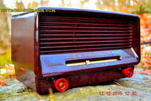 Load image into Gallery viewer, SOLD! - Dec 19, 2015 - Vintage Antique Retro 1949 Philco Transitone 50-520 AM Tube Radio Brown Swirly Bakelite Works Great! Wow! - [product_type} - Philco - Retro Radio Farm