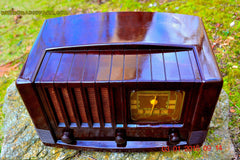 SOLD! - Feb 14, 2016 - BIG BROWN BAKELITE Art Deco Vintage Industrial Age 1948 Stromberg Carlson Model 1100 Tube Radio Totally Restored , Vintage Radio - Stromberg Carlson, Retro Radio Farm  - 3
