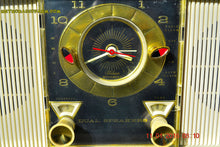 Load image into Gallery viewer, SOLD! - Apr 22, 2016 - BLUETOOTH MP3 READY - Mid Century Retro Ivory 1965 Wards Airline Model 1824A Tube Radio Totally Restored! - [product_type} - Airline - Retro Radio Farm