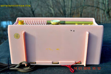 Load image into Gallery viewer, SOLD! - Mar 3, 2016 - MARILYN PINK Retro Jetsons 1957 Motorola 57CC Tube AM Clock Radio Totally Restored! , Vintage Radio - Motorola, Retro Radio Farm  - 13