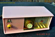 Load image into Gallery viewer, SOLD! - Mar 3, 2016 - MARILYN PINK Retro Jetsons 1957 Motorola 57CC Tube AM Clock Radio Totally Restored! , Vintage Radio - Motorola, Retro Radio Farm  - 11