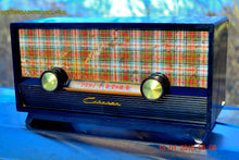 Load image into Gallery viewer, SOLD! - Mar 9, 2016 - SCOTTISH TARTAN Black Retro Vintage 1954 Capehart Model T-54 AM Tube Radio Totally Restored! , Vintage Radio - Capehart, Retro Radio Farm  - 3