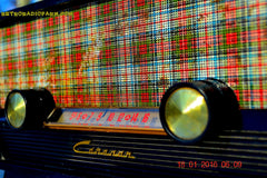 SOLD! - Mar 9, 2016 - SCOTTISH TARTAN Black Retro Vintage 1954 Capehart Model T-54 AM Tube Radio Totally Restored! , Vintage Radio - Capehart, Retro Radio Farm  - 7