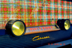 SOLD! - Mar 9, 2016 - SCOTTISH TARTAN Black Retro Vintage 1954 Capehart Model T-54 AM Tube Radio Totally Restored! , Vintage Radio - Capehart, Retro Radio Farm  - 6