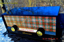 Load image into Gallery viewer, SOLD! - Mar 9, 2016 - SCOTTISH TARTAN Black Retro Vintage 1954 Capehart Model T-54 AM Tube Radio Totally Restored! , Vintage Radio - Capehart, Retro Radio Farm  - 5