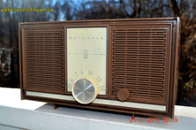 Load image into Gallery viewer, SOLD! - Feb 6, 2017 - TAN Mid Century Retro Jetsons Vintage 1965 Motorola AC80BN AM Tube Radio Works! - [product_type} - Motorola - Retro Radio Farm