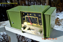 Load image into Gallery viewer, SOLD! - Feb 13, 2016 - OLIVE GREEN Mid Century Retro Vintage 1963 Motorola Model B2-1GQ2942 AM/FM Tube Radio Works Great! - [product_type} - Motorola - Retro Radio Farm
