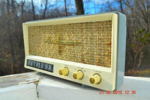 Load image into Gallery viewer, SOLD! -Mar 24, 2016 - BLUETOOTH MP3 READY - Slate Grey Retro Jetsons Vintage 1959 Arvin 2585 AM Tube Radio Immaculate! , Vintage Radio - Arvin, Retro Radio Farm  - 8