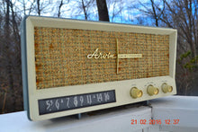 Load image into Gallery viewer, SOLD! -Mar 24, 2016 - BLUETOOTH MP3 READY - Slate Grey Retro Jetsons Vintage 1959 Arvin 2585 AM Tube Radio Immaculate! , Vintage Radio - Arvin, Retro Radio Farm  - 2