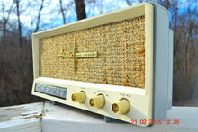 Load image into Gallery viewer, SOLD! -Mar 24, 2016 - BLUETOOTH MP3 READY - Slate Grey Retro Jetsons Vintage 1959 Arvin 2585 AM Tube Radio Immaculate! , Vintage Radio - Arvin, Retro Radio Farm  - 6