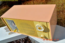 Load image into Gallery viewer, SOLD! - Apr 15, 2017 - BLUETOOTH MP3 READY - PINK AND CREAM Two Tone Mid Century Retro Admiral Tube AM Radio  Model Y3037A Works Great! - [product_type} - Admiral - Retro Radio Farm