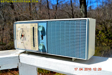 Load image into Gallery viewer, SOLD! - May 4, 2016 - SLATE BLUE Mid Century Antique Retro Vintage 1963 RCA Victor Model RGS19A AM/FM Tube Clock Radio Works Great! , Vintage Radio - RCA Victor, Retro Radio Farm  - 1